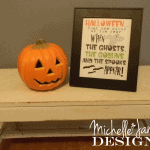 Halloween Printable Freebie from Michelle James Designs