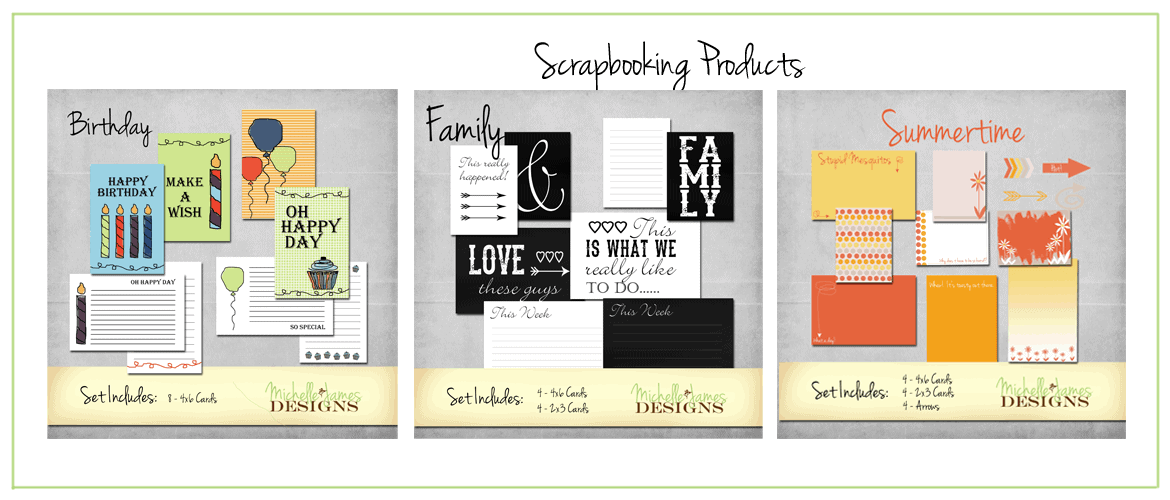 Paper Crafting & Scrapbooking Products