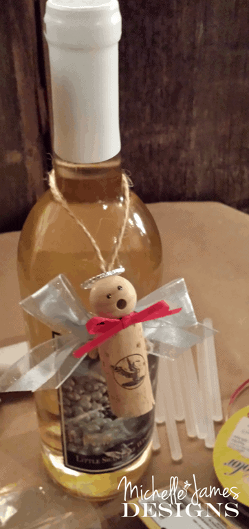 Angel Cork Craft - www.michellejdesigns.com