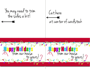 Happy Holidays Card Instructions copy