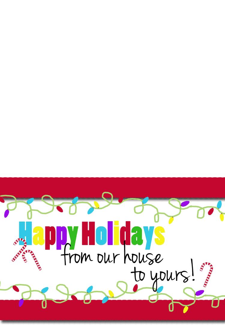 Happy Holidays Card copy