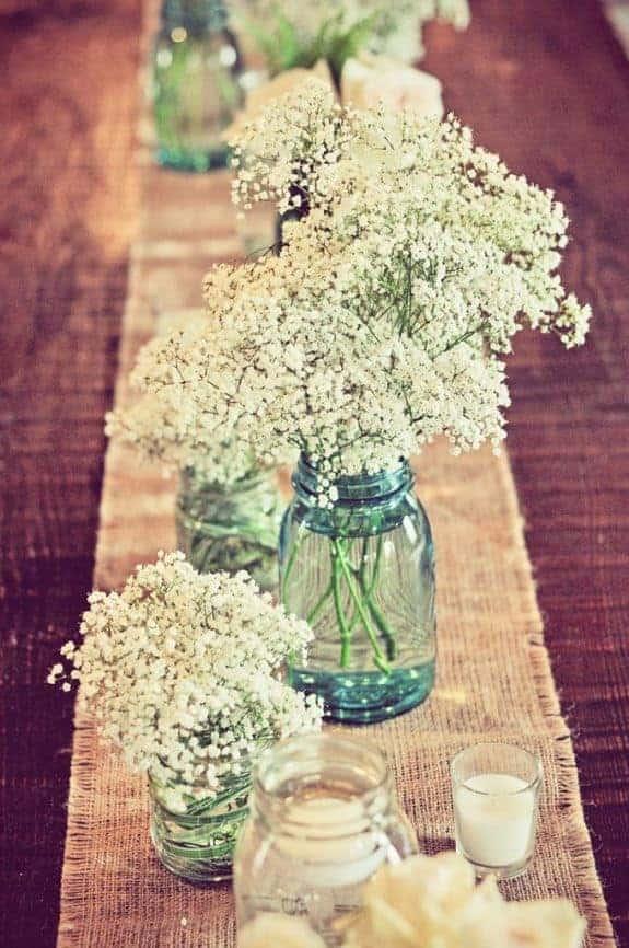 Mason Jar Wedding Ideas   Www.michellejamesdesigns.com