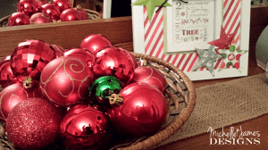 Basket of Ornaments - www.michellejdesigns.com , #simplethings