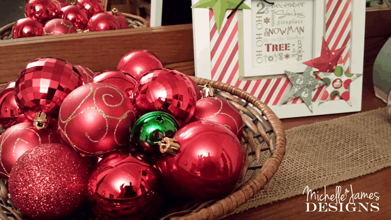 Basket of Ornaments – Simple Things Thursday