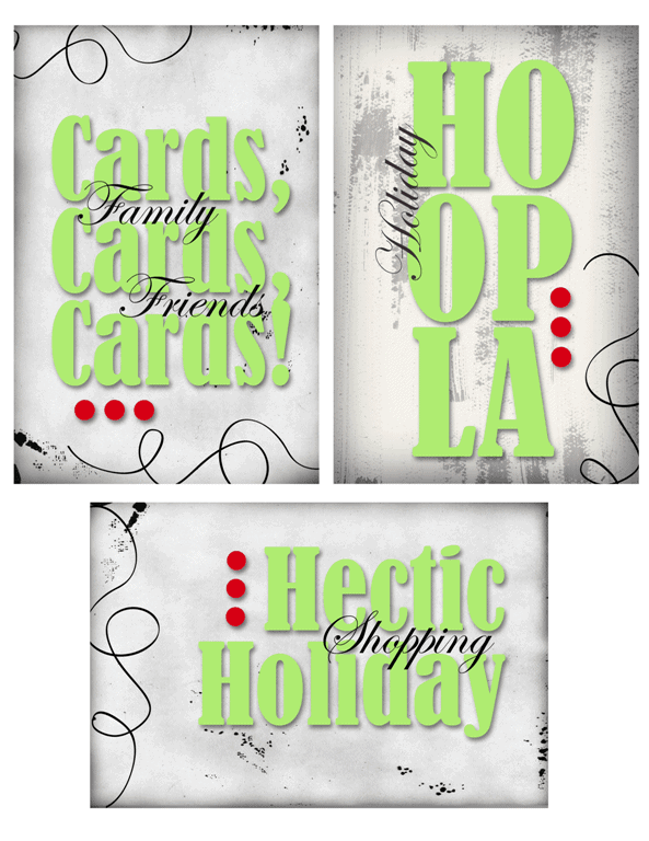 Hectic Holiday Kit for Project Life - www.michellejdesigns.com