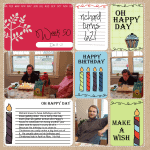 Happy Birthday Kit for Project Life - www.michellejdesigns.com