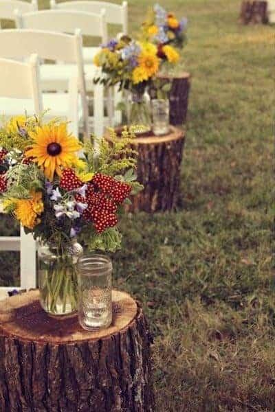 Mason Jar Wedding Ideas   Www.michellejdesigns.com