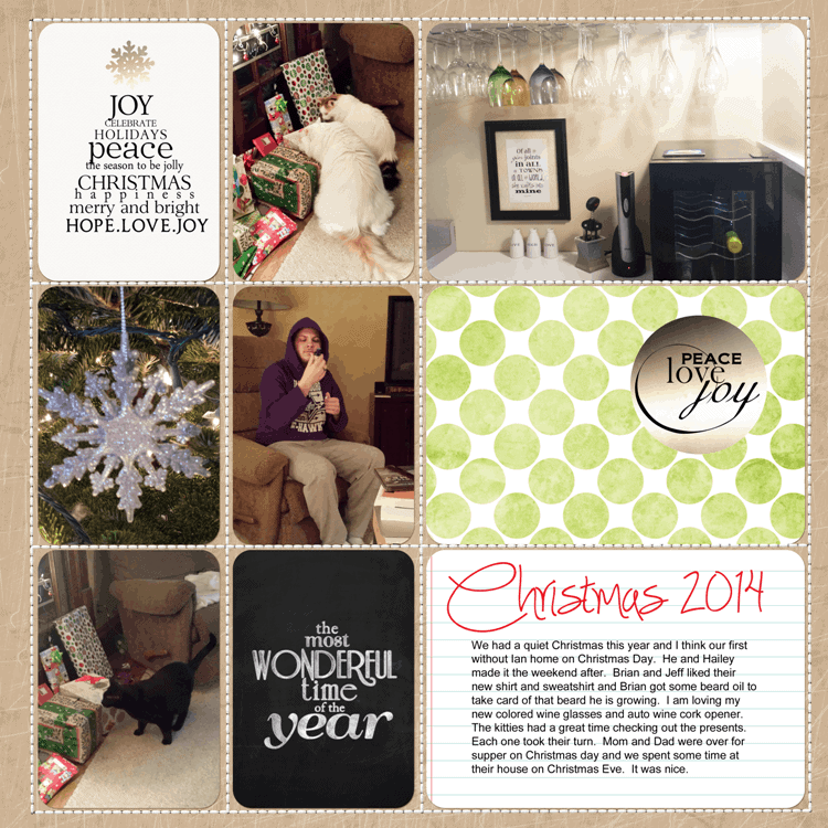 Project Life Week 51 - www.michellejdesigns.com