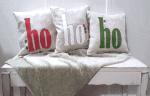 Holiday Decor Ho Ho Ho Pillows