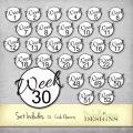 52 Weeks Circle Elements - www.michellejdesigns.com