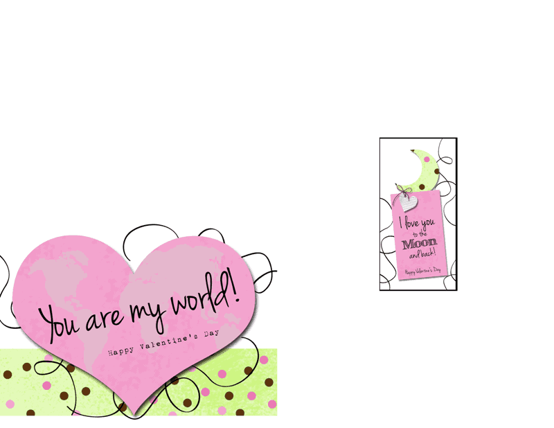 Page for print - You are my world copy
