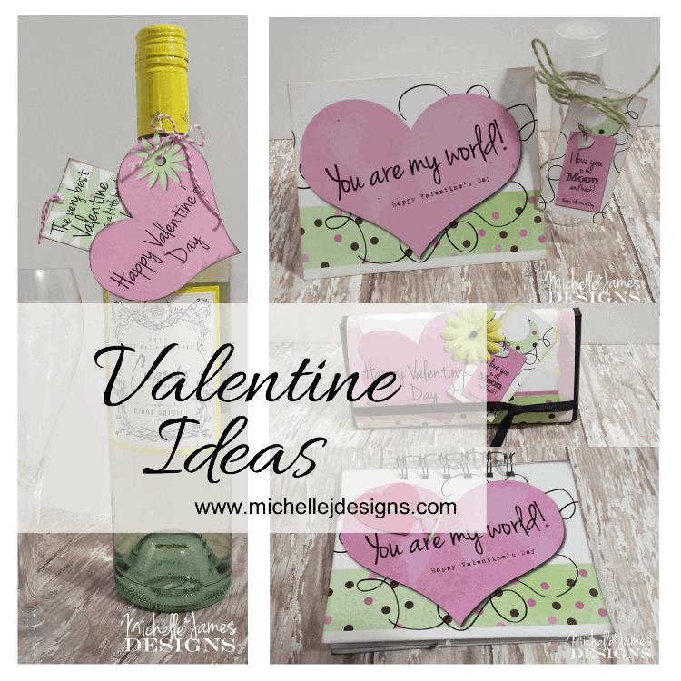 Valentine Ideas - www.michellejdesigns.com