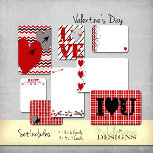 Valentine's Day Kit - www.michellejdesigns.com