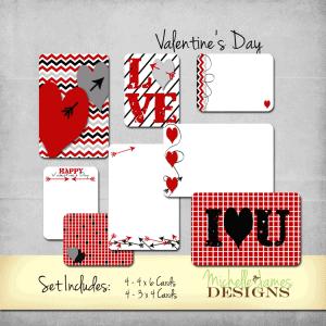 Valentine's Day Kit - www.michellejdesigns.com