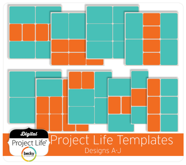 Starting Project Life - www.michellejdesigns.com