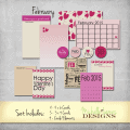 February Freebie Kit - www.michellejdesigns.com