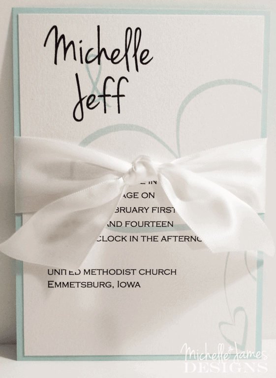 Printing Your Own Wedding Invitations Michelle James Designs