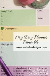 Day Planner - www.michellejdesigns.com
