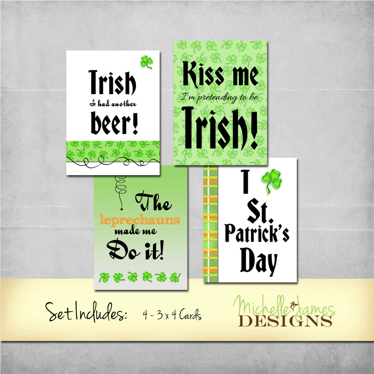 March St. Patrick's Day Add-On Kit  - www.michellejdesigns.com