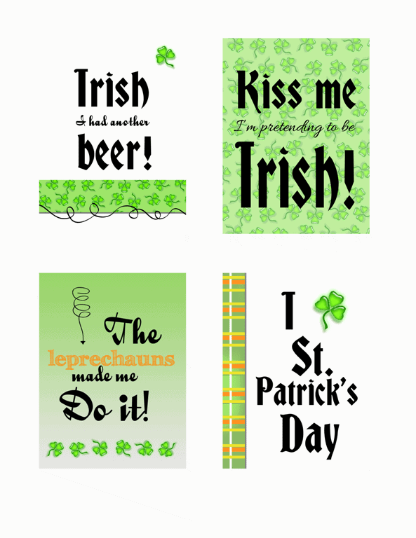 St. Patrick's Day Add-On Kit - www.michellejdesigns.com