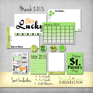 March 2015 Kit - www.michellejdesigns.com