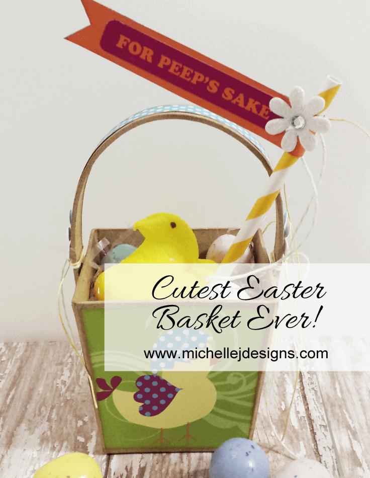 Cutest Easter Basket Ever - www.michellejdesigns.com