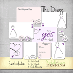 The Dress Kit – Project Life Pocket Pages