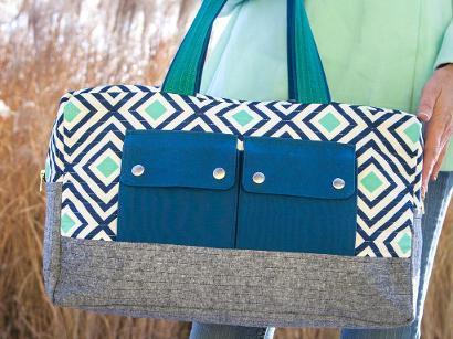 Craftsy Duffle Bag