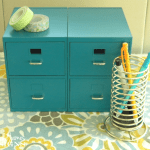 Mini File Cabinet - www.michellejdesigns.com
