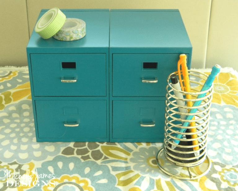 Mini File Cabinet