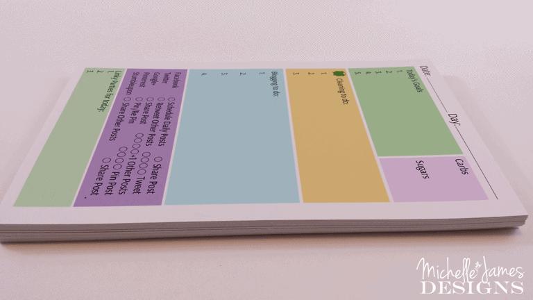 DIY Notepad Padding Compound - www.michellejdesigns.com