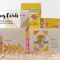 May Cards for Spring - www.michellejdesigns.com - Create some spring cards using this awesome Doodle Bug collection