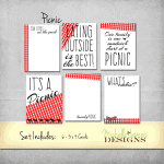 Picnic Kit  – Project Life Pocket Pages