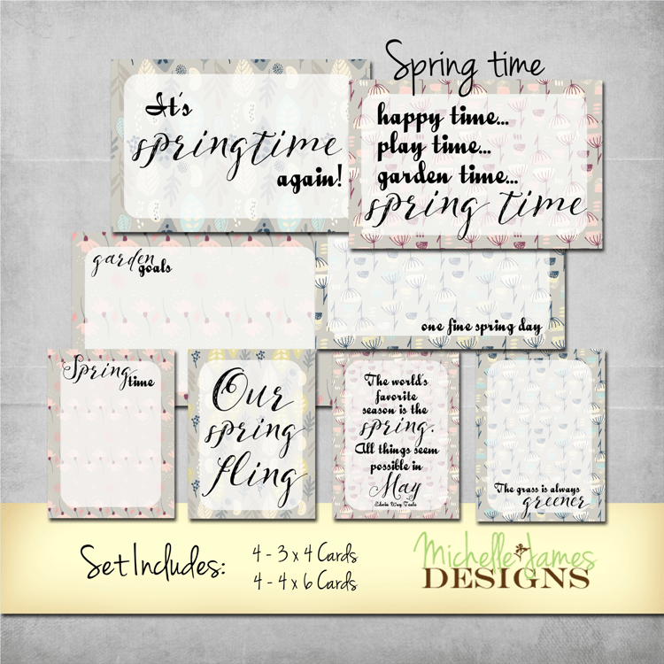 Spring Time Kit - www.michellejdesigns.com