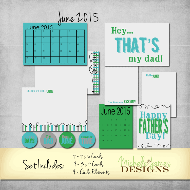 June 2015 Kit - www.michellejdesigns.com