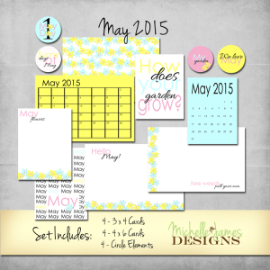May 2015 Kit - www.michellejdesigns.com