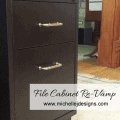 File Cabinet Re Vamp - www.michellejdesigns.com