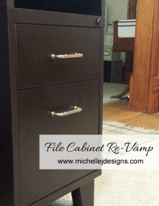 File Cabinet Re Vamp - www.michellejdesigns.com