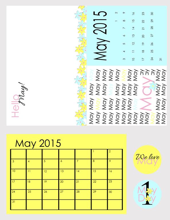 May 2015 Kit - www.michellejdesigns.com