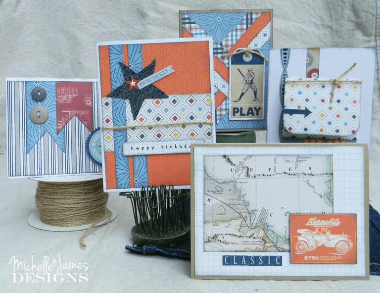 July Card and Kit - www.michellejdesigns.com