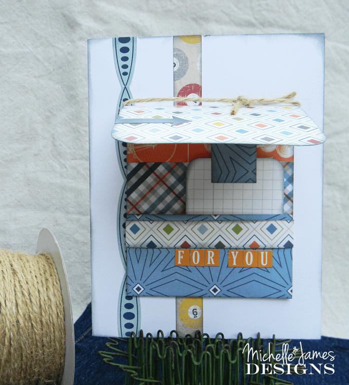July Card Class and Kit - www.michellejdesigns.com - Available as a local class or a kit to be purchased and shipped you will love these cards for men!