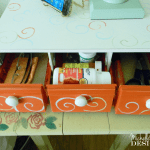 Cassette Tape Holder to Organizer - www.michellejdesigns.com - I never have liked the look of these cassette holders from the 80's. I turned it into an organizer!