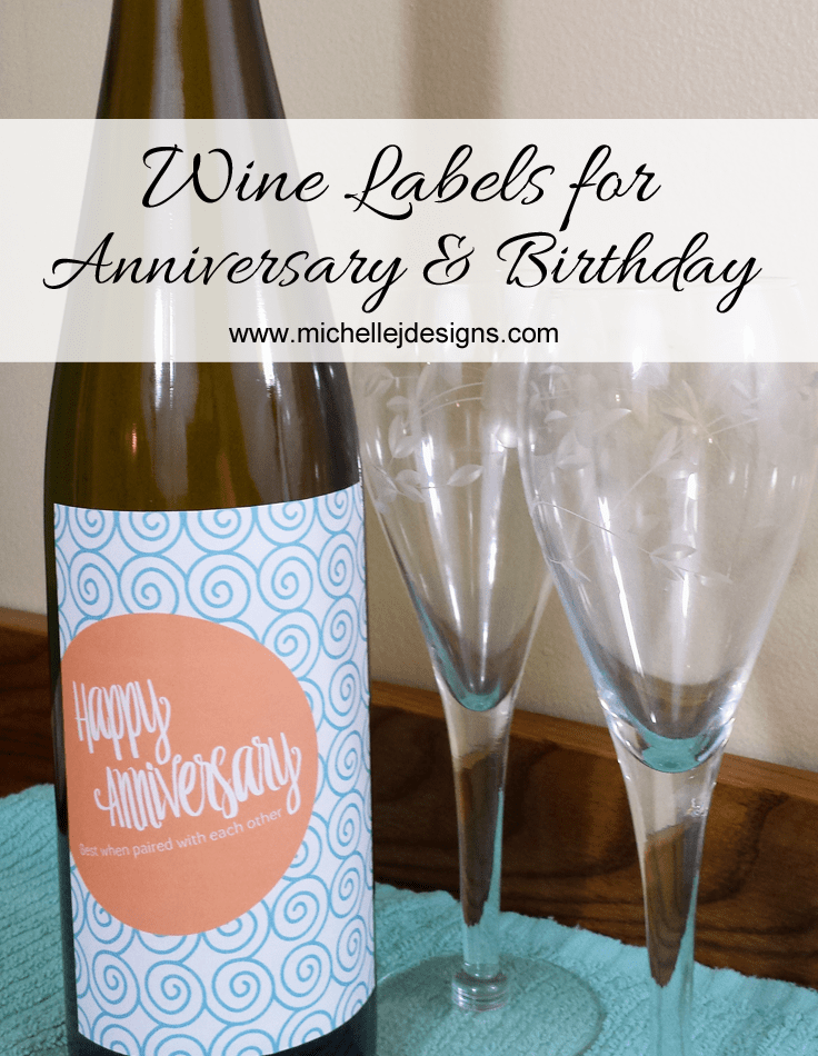Enjoy these free printable wine labels just for checking out my post!  Have a great day! www.michellejdesigns.com