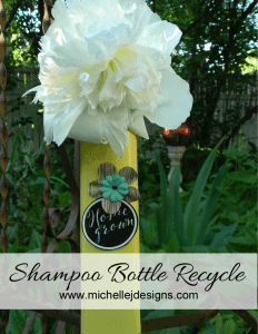 Shampoo Bottle Recycle - www.michellejdesigns.com