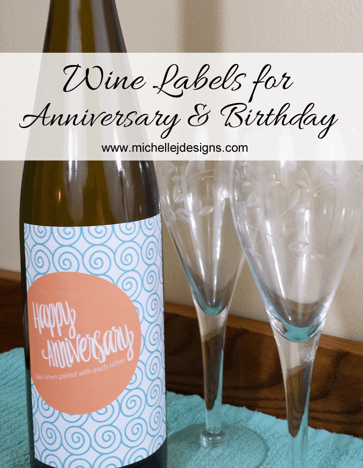 picture relating to Free Printable Wine Labels identify Wine Labels for Anniversary and Birthday Mice James