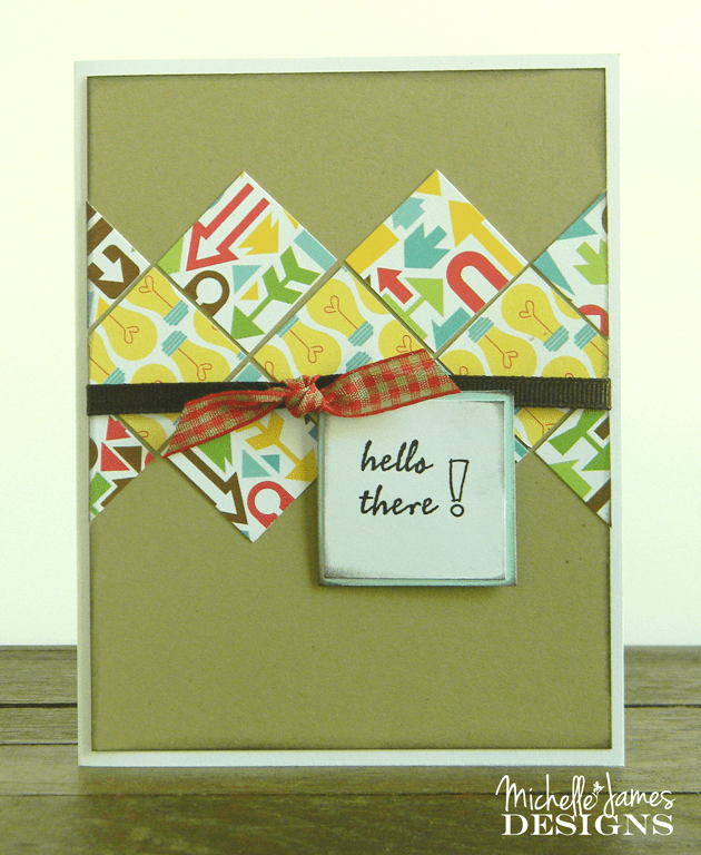 August Card Class and Kit - www.michellejdesigns.com - Create five cards using the Doodlebug Essentials Day to  Day Collection