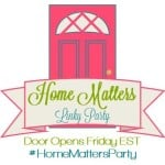 Home Matters Linky Party # 56
