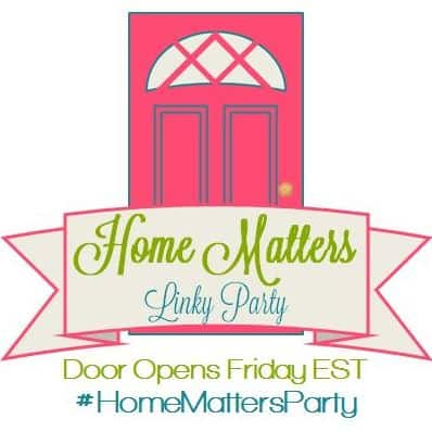 Home Matters Link Party - www.michellejdesigns.com
