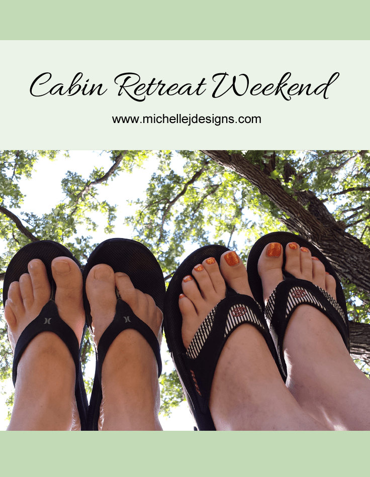 Cabin Retreat Weekend - www.michellejdesigns.com