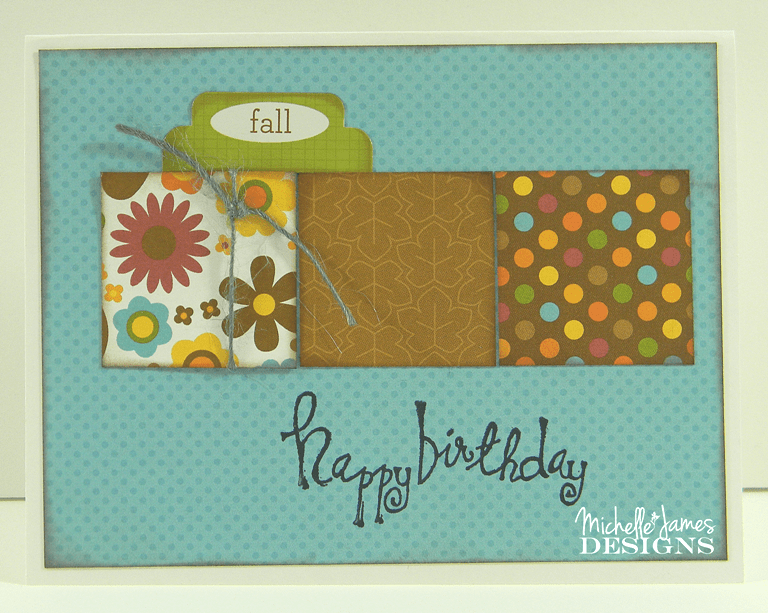 October Card Class - www.michellejdesigns.com - We are using Doodlebug's Fall Friends collection for this round of cards. They turned out really nice!